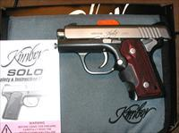 Kimber SOLO CDP, Laser Grips, 9MM, NIB