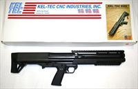 KEL TEC KSG, 12 gague pump shotgun, 12 or 14 rounds, NIB