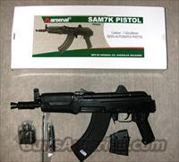 Arsenal SAM 7K 01, 7.62x39 pistol, NIB