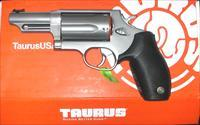 Taurus Stainless Steel Judge, 2 1/2 inch, 45lc/410 shot shell, NIB