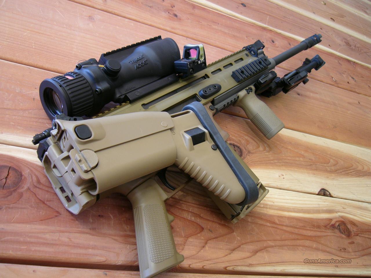 RANGER DEPLOY SCAR-H MK17 MOD 0 FNH 17S FN SCAR  308 7 62 TRIJICON ACOG  GEISSELE MAGPUL
