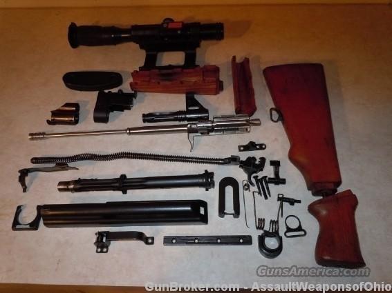 YUGO M76 parts kit - milled receiver & GM barrel