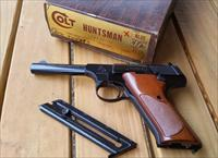 Mint condition Colt Huntsman 22LR pistol with original box