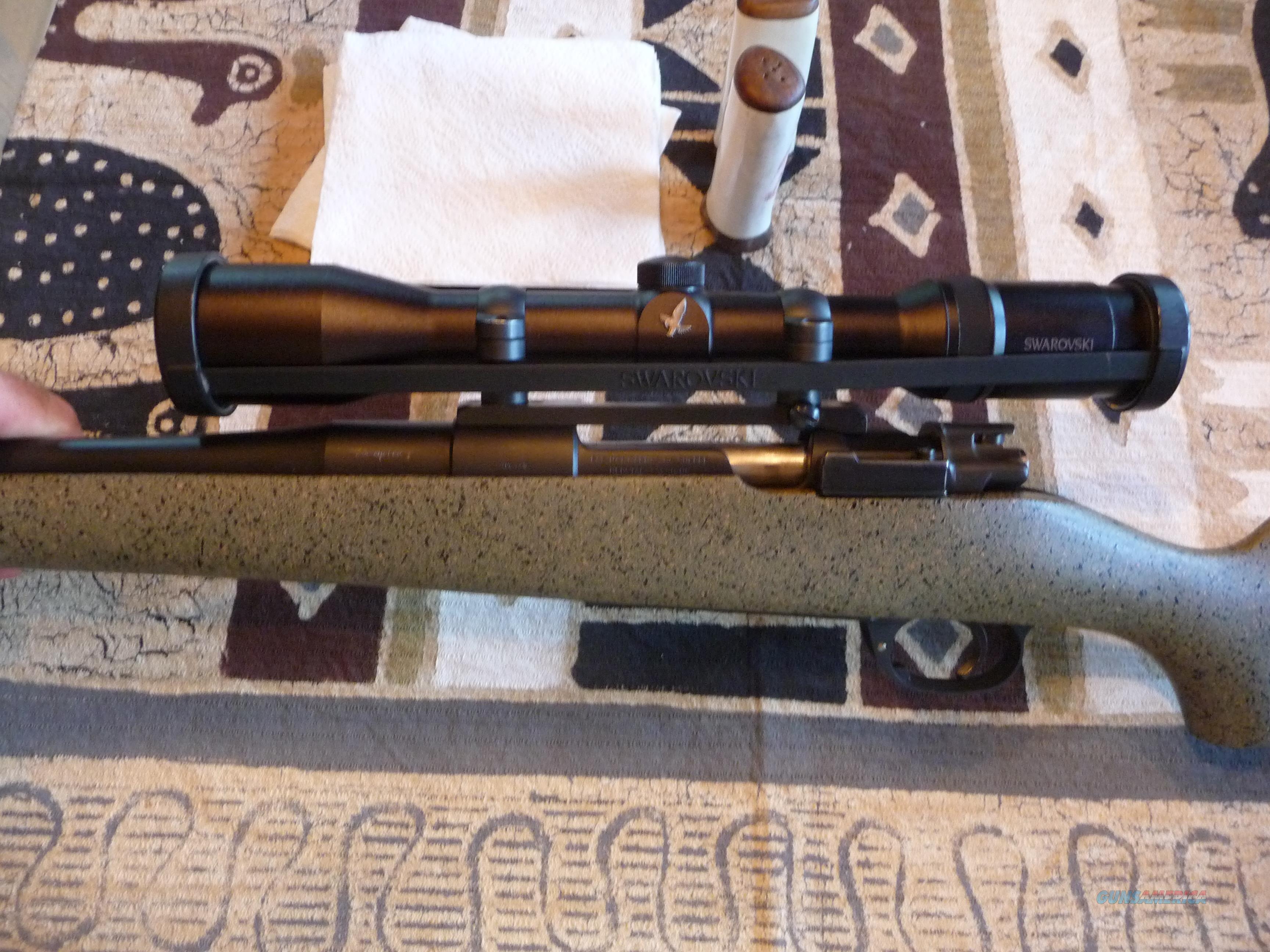 Custom Mauser 98 FN-D'Armes High-Tech Stock by Mark Banser-35 Whelen