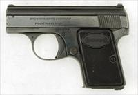 "Browning ""Baby"" Model .25 auto pistol made in Belgium"