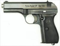 CZ 27 .32 German Military issue, early high Polish finish