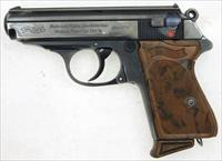 prewar Walther Model PPK in .32 ACP.