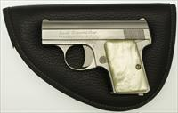 Stainless Bauer Firearms Browning Baby .25 Pistol