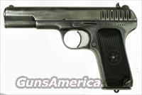 Rusian TT33 Tokarev Pistol 7.62mm dated 1940