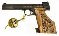 Cased & Engraved Hammerli Model JP208 .22 Target Pistol