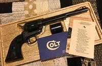 COLT SINGLE ACTION .22LR/22 MAG DUAL CYLINDER  PEACEMAKER BUNTLINE 1975