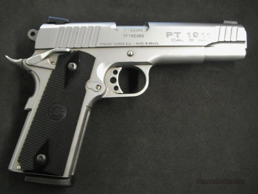 TAURUS PT 1911 in 9mm - Stunning in Stainless for sale