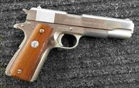 Colt 1911 MKIV Series 70 - Stainless - 45 ACP - Extra KART NM Barrel - Free Shipping !!
