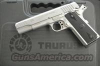 Stunning in Stainless - TAURUS PT 1911 in 9mm