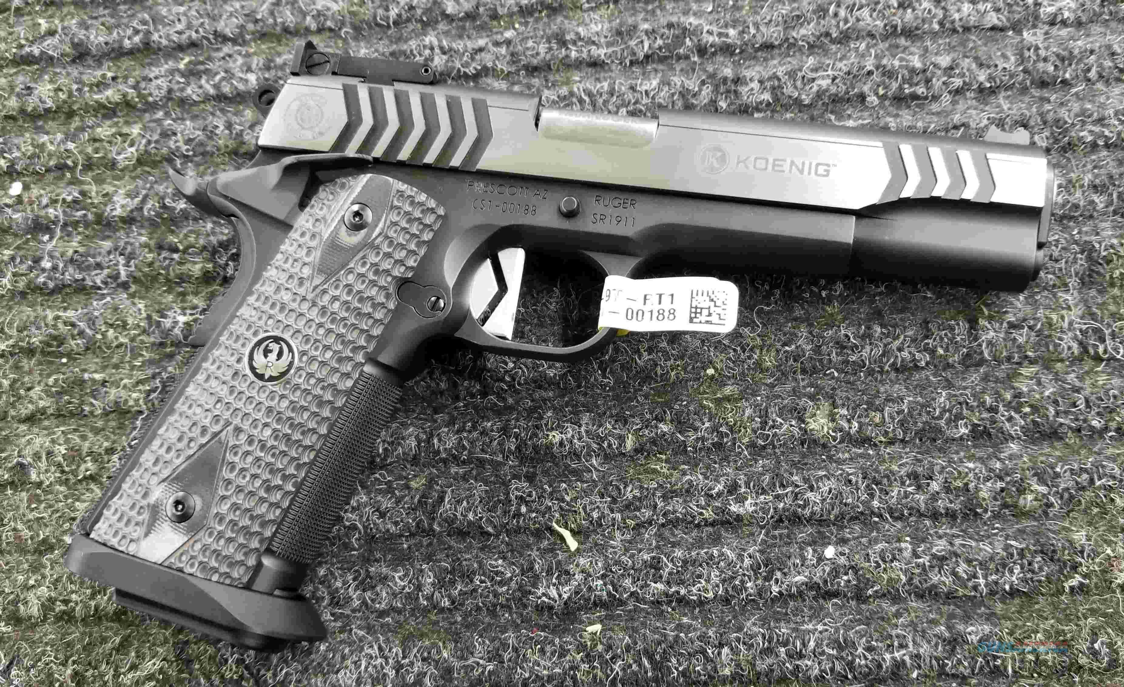 Ruger Custom Shop SR1911 - 9mm - Doug Koenig Special - Free Shipping !!!