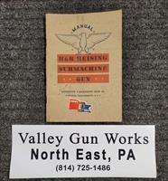 H&R Reising Submachine Gun Manual