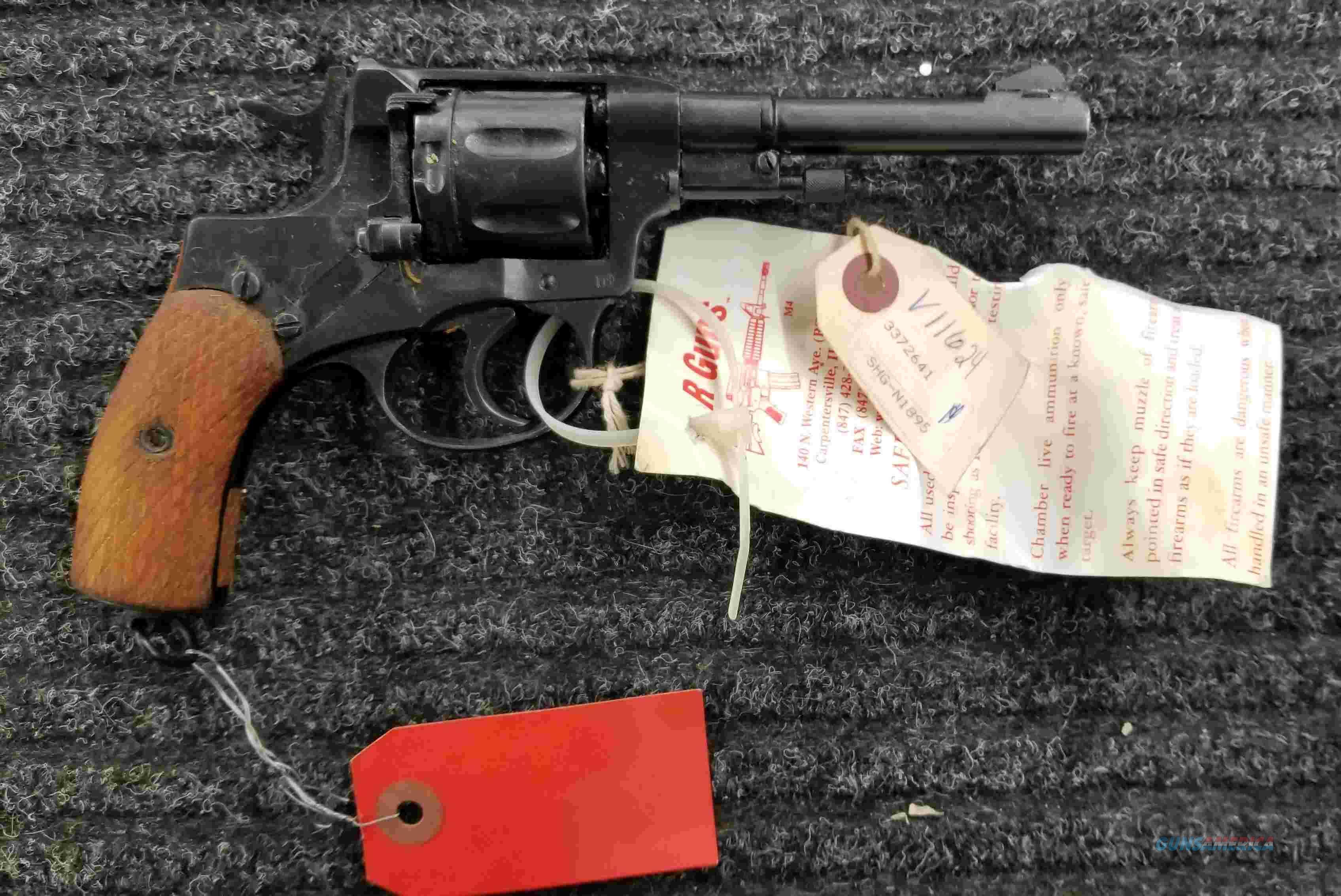 Nagant 1895 Revolver - 1932 Tula - 7 62X38 - Holster - Free Shipping