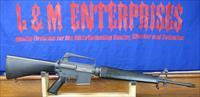 SCARCE & DESIRABLE COLT PREBAN, GREEN LABEL AR15 SP1 SPORTER RIFLE IN .223 WITH 5 DIGIT SERIAL NUMBER.