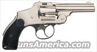 S&W .38 SAFETY HAMMERLESS, NEW DEPARTURE, 1ST MODEL, 1ST YEAR PRODUCTION FROM 1887 !! SINGLE DIGIT SN =