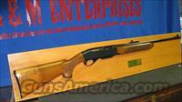 REMINGTON ARMS PRESENTATION RIFLE, MODEL 742, MOUNTED FOR DISPLAY. PRESENTED IN 1971 BY DEPARTMENT 82. ONE OF A KIND FOR THE REMINGTON COLLECTOR / ENTHUSIAST !!