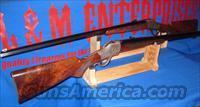 MAGNIFICENT SEQUENTIALLY SERIALIZED PAIR OF WINCHESTER M1885 SINGLE SHOT HIGH WALL SPECIAL SPORTING RIFLES MADE TO ORDER BY BALLARD RIFLE & CARTRIDGE COMPANY FOR BUFFALO BILL HISTORICAL CENTER IN CODY WYOMING !!!
