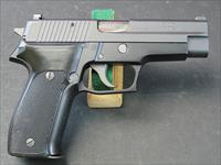SIG SAUER P226 SEMI-AUTOMATIC PISTOL IN 9MM WITH NIGHT SIGHTS, EXTRA HI-CAP MAGS