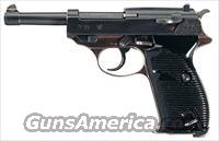 WWII-ERA MAUSER/WALTHER P-38 IN 9MM LUGER