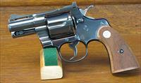 COLT PYTHON, BLUED, 2.5 INCH VENT RIBBED BARREL FROM 1967. COLT LETTER.