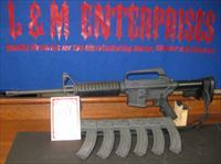 SCARCE AND DESIRABLE COLT R6001 SP1 CARBINE WITH CEINER .22 LR CONVERSION AND 6 CEINER MAGAZINES.