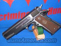 COLT M1911AI .45 CALIBER GOVERNMENT WITH RARE BARREL BUSHING (BB) TRANSITION FEATURE !