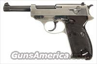 RARE & COLLECTIBLE WALTHER P-38 WITH EXPERIMENTAL CHROME FINISH!!
