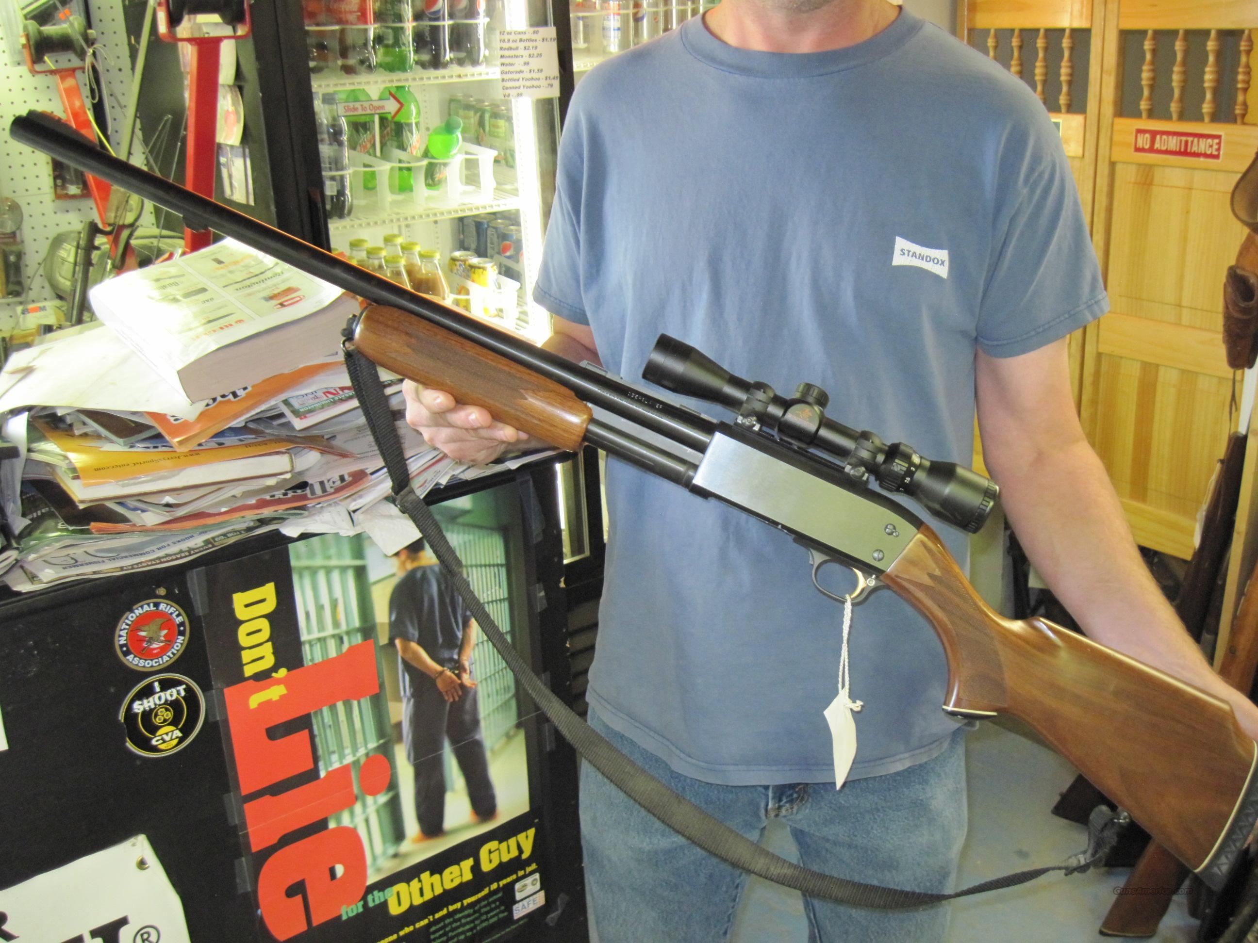 Ithaca 87 Deerslayer Featherlight 12ga Scoped Guns Shotguns Pump