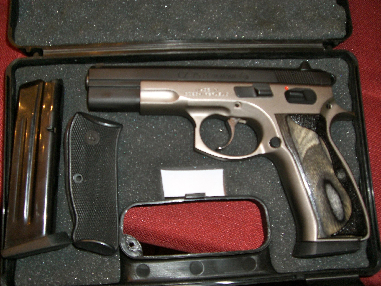 CZ 75B Tactical Two Tone  40CAL