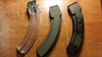 3 x 20rd. Mag's Clear/Camo/Olive Drab for Ruger 10/22