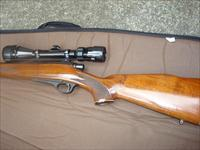 Remington 660 in .222 Remington short barrel (coyote/groundhog)