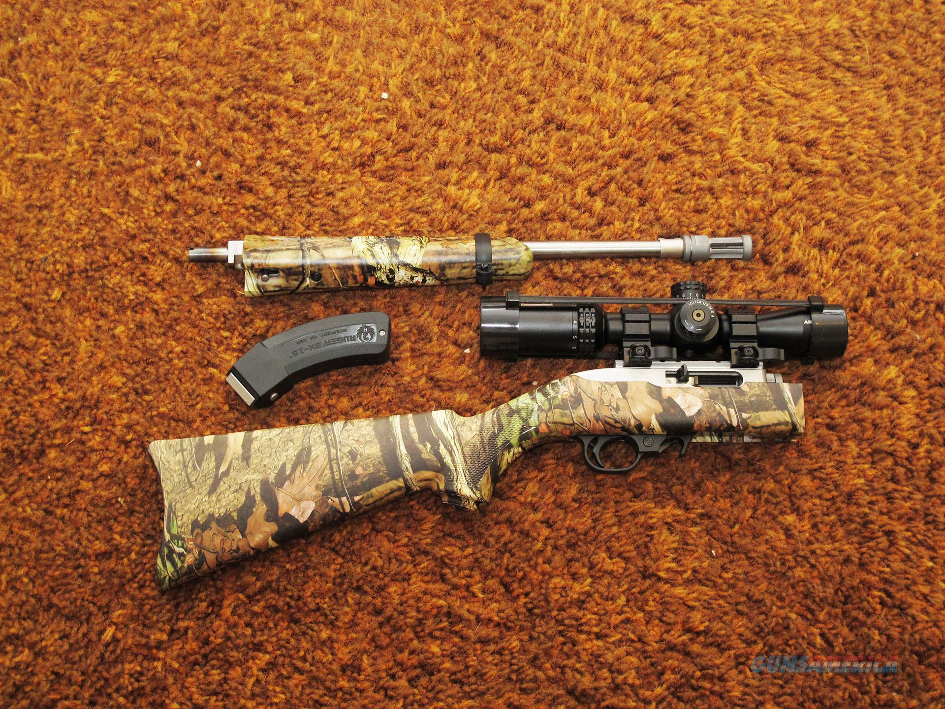 Ruger 10/22 Stainless Takedown Camo with Scope for sale