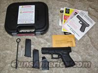 Glock 19 in 9mm with Trijicon Sights Gen 3
