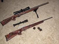 Two (2) Savage 93 BTVS Bolt Action Rifles (.22Mag, .17HMR)