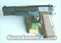 "Browning High Power -""C"" Series Belgian 1976"
