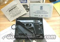 RARE WALTHER PP 380 AS NIB