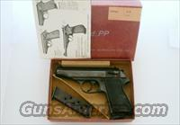 WALTHER PP380 no IMPORT MARKING, BOX MANUAL