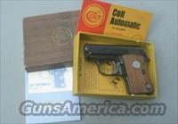 COLT JUNIOR 25 BOX & MANUAL
