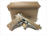 BERETTA JS92M9A3M  FDE 9mm Pistol with Hard Case