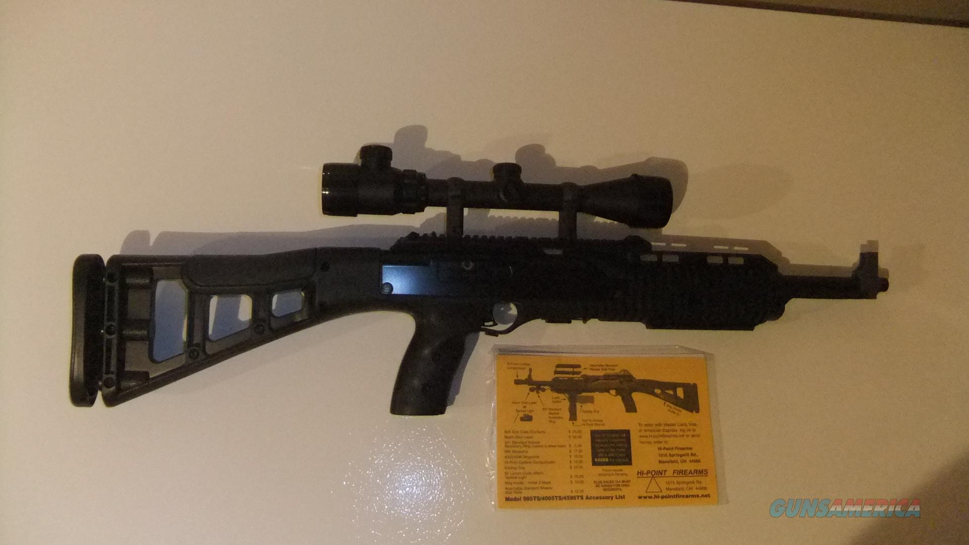 High Point 9mm Carbine With Laser