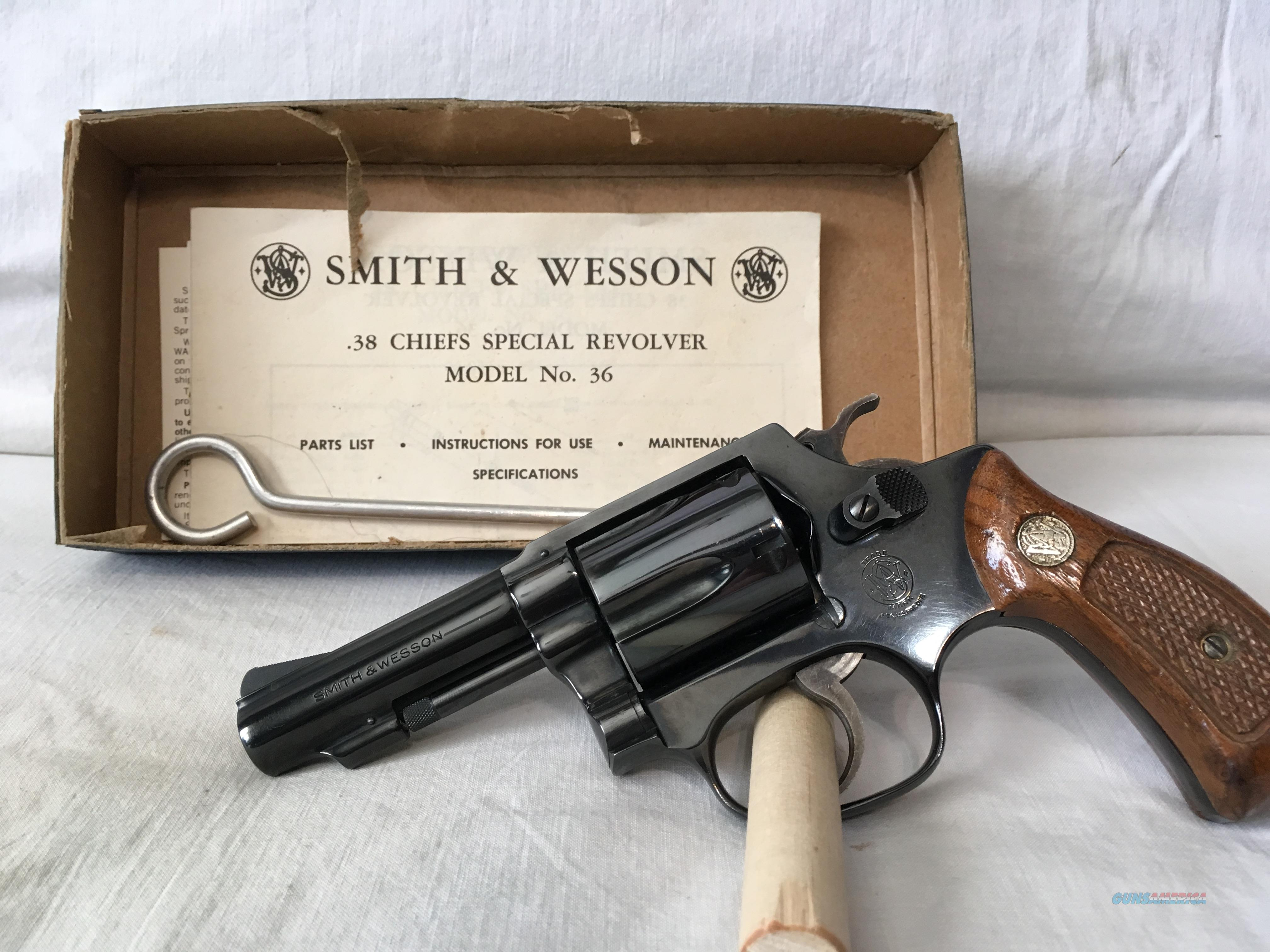 Smith Wesson 38 Chiefs Special 77 78 5 Shot For Sale And Model 29 Parts Diagram On Mosin Nagant 3 Barrel Guns