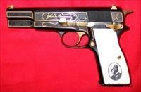 Browning 9mm Hi Power 150th Anniversary Engraved