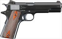 Limited Edition Engraved Turnbull 1911 Charcoal Blued (Only 22 available)