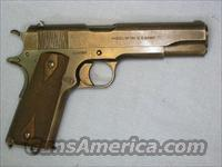 Colt 1911 US Army .45acp, 1917 WWI 90% orig. blue