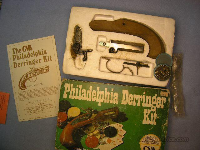 Cva Muzzle Loading Philadelphia Derringer Kit In 45