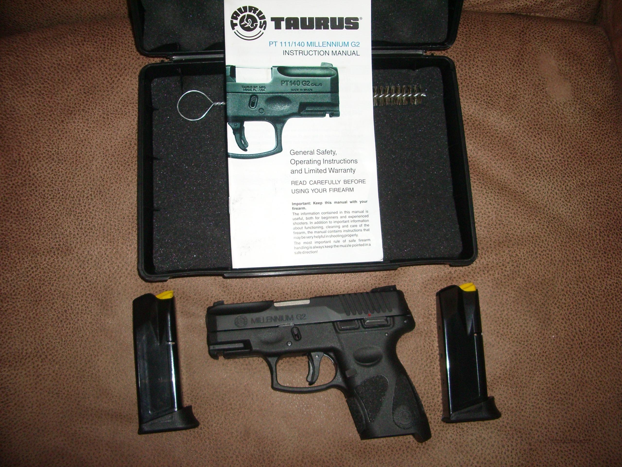 Taurus Pt111 G2 9mm For Sale Millennium Schematics